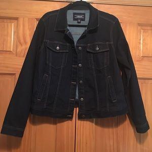 Land's  End Denim Jacket XL